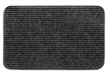 2-0450 RV Ruggids Door Mat - Black Granite