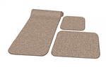 Prest-o-Fit 5-0262 Decorian 3 Piece RV Rug Set - Butter Pecan