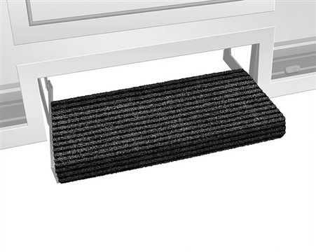 "Prest-o-Fit 23"" Ruggids RV Step Cover - Black Granite"