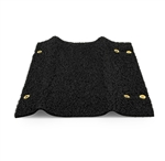 "Camco Wrap Around 23"" RV Step Rug - Black"