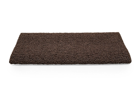 "Camco 42967 RV Premium Step Scrub Rug - Brown - 22"" x 23"""