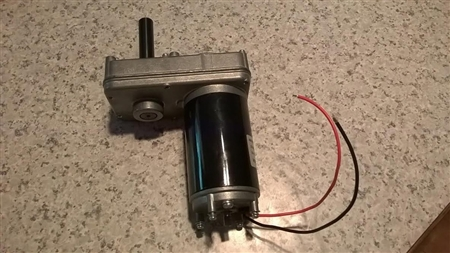 Lippert EZ Bedlift Motor Assembly w/127595 LTGL0706