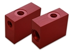 Lippert 045-136148 Valve Body Restricted Red Hydraulic Slide Out Systems