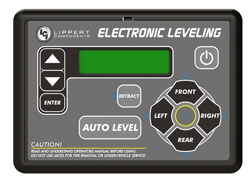 Lippert 234802 LCI Electric Leveling Control Panel