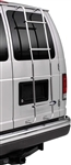 Surco 103HF Rear Door Ladder With Hooks For Ford Vans