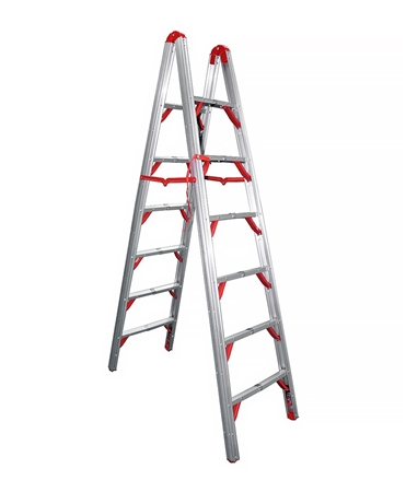Telesteps 700FLD Double Sided Folding STIK Ladder - 7'