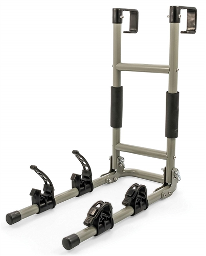 Camco 51492 RV Ladder Mount Bike Rack - 2 Bikes