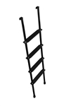 Stromberg Carlson LA-460-B  Interior Black RV Bunk Ladder - 60""