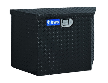 United Welding Services Trailer Tongue Storage Box - Black