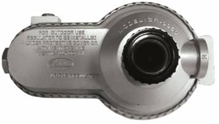 JR Products 07-30365 Low Pressure 2-Stage Gas Regulator