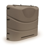 Camco 40531 Heavy Duty RV Propane Tank Cover - Champagne - 30 lbs