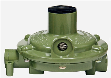 Marshall Excelsior MEGR-230-90 Excela-Flo Single Stage Low Pressure Regulator With 90 Degree Vent