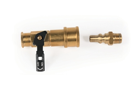 Camco Low Pressure Gas Quick Connect Valve