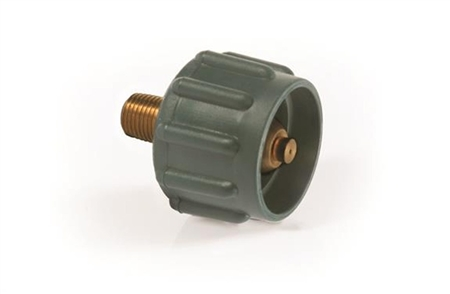 "Camco 1/4"" Lp Gas Acme Nut - Green"