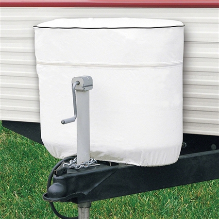 Classic Accessories Duel 20 lbs. RV LP Tank Cover - White - Model 2