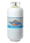 Flame King YSN401 40 Lbs. RV Propane Cylinder with Type 1 Overflow Protection Device Valve