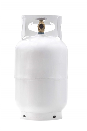 King Flame YSN10LB 10 lbs. RV Propane Tank - with Type 1 Overflow Protection Valve