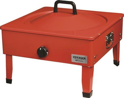 Suburban 3033A Voyager Portable Fire Pit With Folding Legs