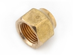 Brass Forged Flare Nut - 3/8""