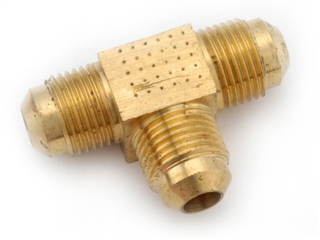 Anderson Brass Flare Tee - 1/2""