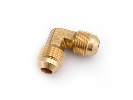 Anderson Metals Brass Male Flare Union Elbow - 3/8""