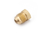 Anderson Metals Brass Male Flared Sealing Plug - 3/8""