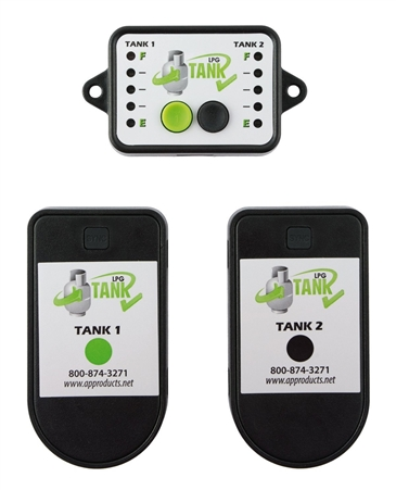 AP Products Tank Check Propane Level Indicators - 2 Sensors, W/Monitor