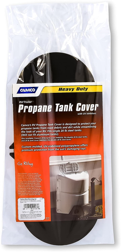Camco 40567 Replacement Lid For 20 Lb Single Propane Tank Cover