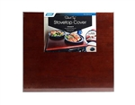 Camco 43526 Universal Silent Top StoveTop Cover  - Bordeaux Finish