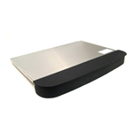 Suburban 2967AST RV 2-Burner Cooktop Cover With Side Wind Guards - Stainless Steel