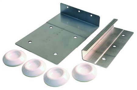 JR Products 06-11845 Washer/Dryer Mounting Bracket Stack Kit