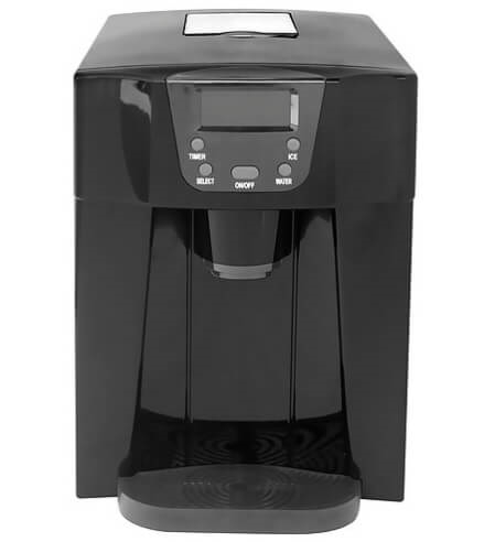 Contoure RV-225-BLACK Countertop Ice Maker - Black