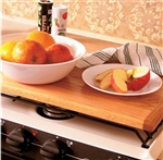 Camco 43521 Oak Accents Universal Silent Top Stovetop Cover