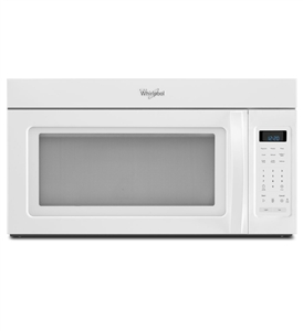 Whirlpool White 1.7 cu ft Microwave
