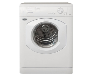 "Splendide TVM63X Ariston Vented Stackable RV 24"" Dryer - White"