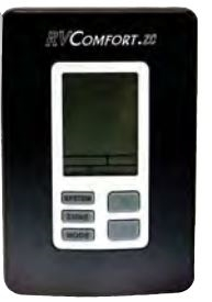 Coleman Mach 9330A3351 Zone Control 9-Series Digital RV Thermostat - White