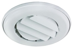 JR Products ACG25DPW-A  Coolvent Deluxe Adjustable Ceiling Vent- Polar White