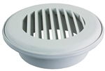 JR Products CG150PW-A Snap-On Ceiling Vent- Polar White