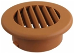 "JR Products HV4OAK-A 4"", Oak Thermovent Heat Vent Without Damper"