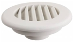 "JR Products HV2PW-A 2"", Polar White Themovent Ducted Heat Vent Without Damper"