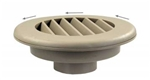 "JR Products HV2TN-A 2"", Tan Thermovent Ducted Heat Vent Without Damper"