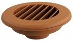 "JR Products HV2OAK-A Thermovent Ducted Heated Vent Without Damper- 2"", Oak"
