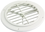 Thetford 94274 Ceiling Vent Without Damper - Polar White