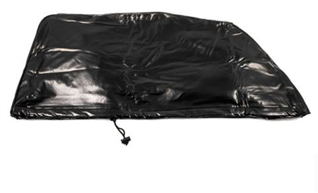 "Camco 45266 Black Vinyl A/C Cover for DuoTherm Penguin - 25"" x 39"" x 11"""