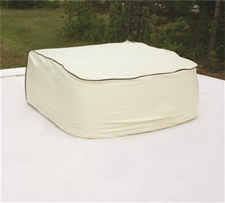 "Camco 45393 White Vinyl A/C Cover for Coleman Mach I, II And III - 28.5"" x 42"" x 12"""