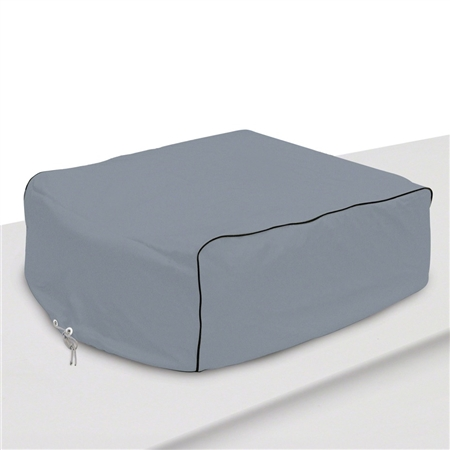 Classic Accessories RV AC Cover Grey - Carrier & Air V