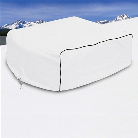 Classic Accessories RV AC Cover White - Coleman Mach, Roughneck & TSR