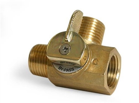 Camco 3-Way RV Brass Replacement Valve