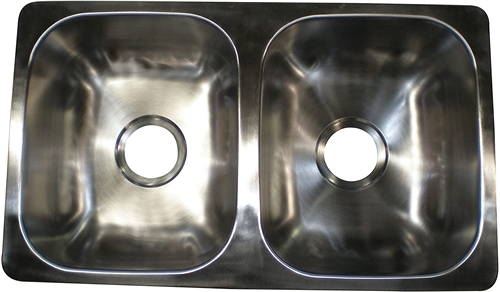 LaSalle Bristol RV Double Bowl Sink