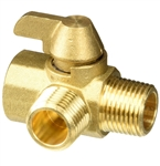 "Valterra P23401LF 1/2"" Replacement Brass Diverter Valve"